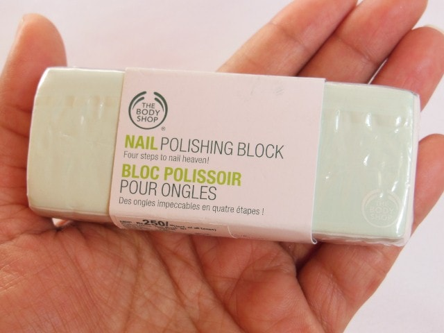 The Body Shop Nail Polishing Block Review