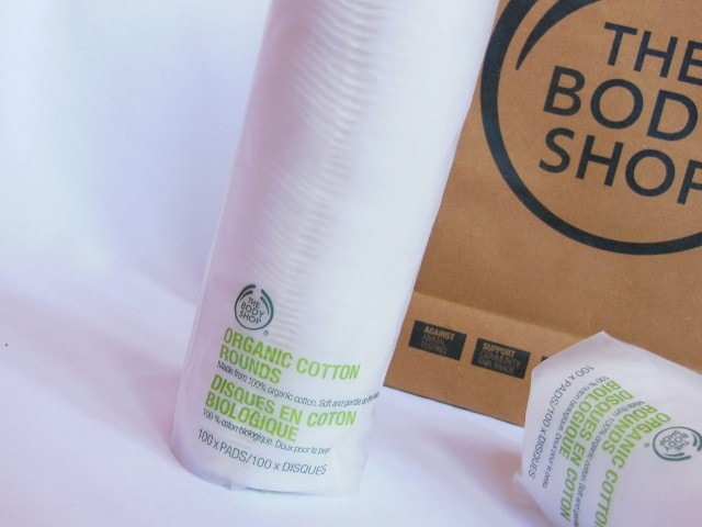 The Body Shop Organic Cotton Rounds 100 Pack