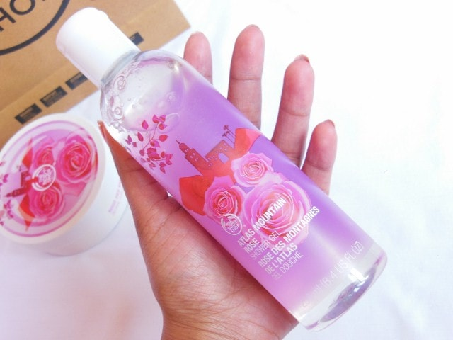 The Body Shop  Shower Gel in Atlas Mountain Rose Review