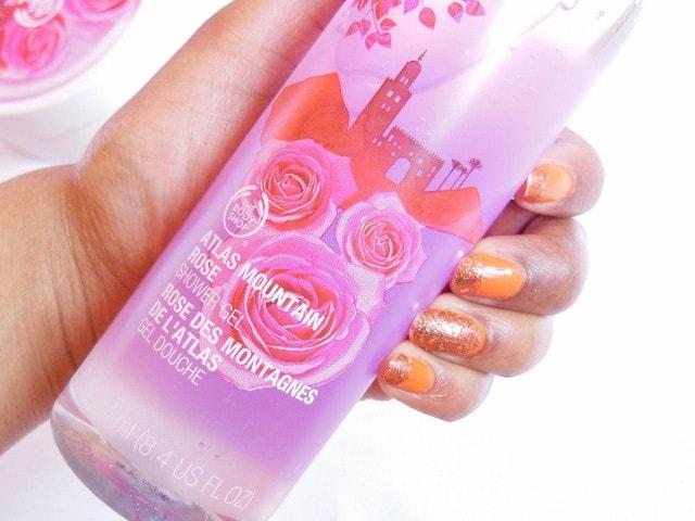 The Body Shop  Shower Gel in Atlas Mountain Rose