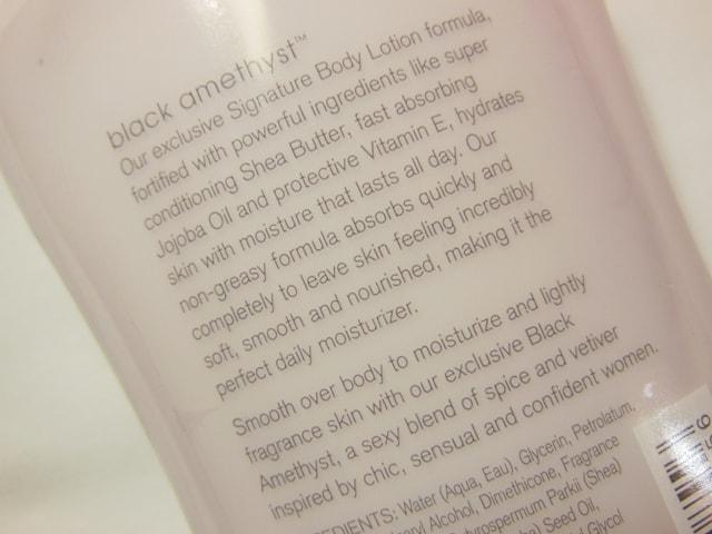 Bath and Body Works Body Lotion Dark Amethyst Claims