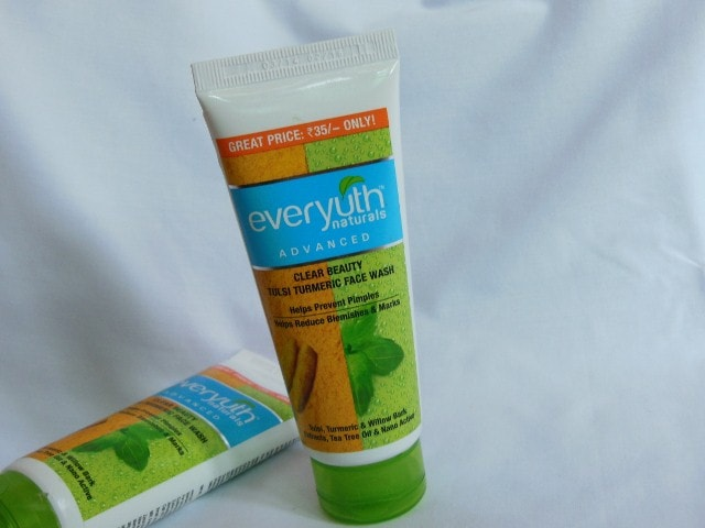 Everyuth Tulsi Turmeric face Wash Review