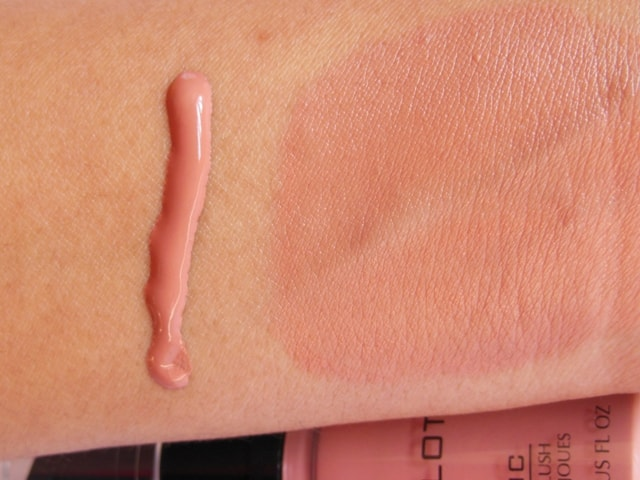 INGLOT AMC Liquid Face Blush #81 Swatch2