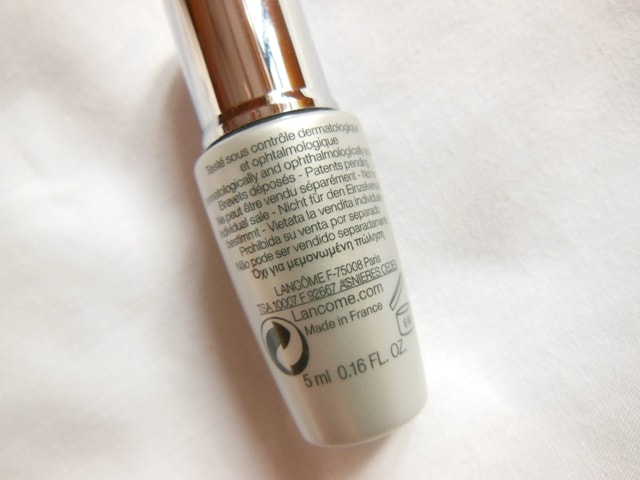 Lancome Genifique Eye Illuminating Youth Activating Concentrate Claims