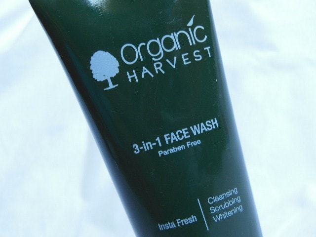Organic Harvest Face Wash
