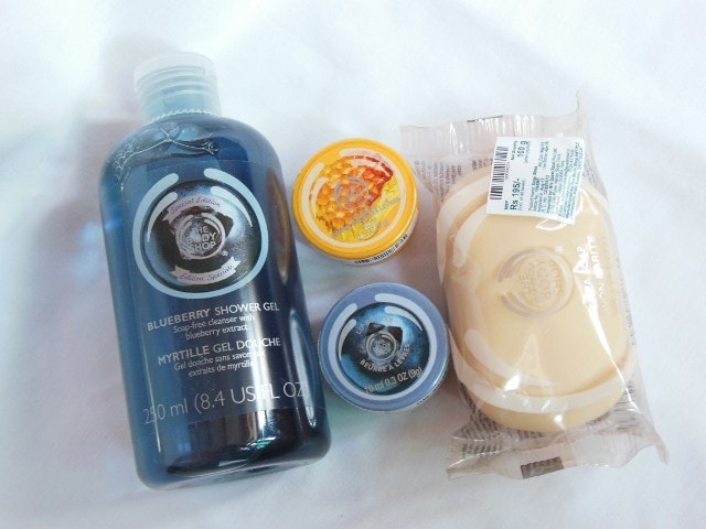 The Body Shop Shopping - Blueberry and HoneyOMania