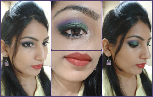 What Am I Wearing Today-Orchids Garden Makeup