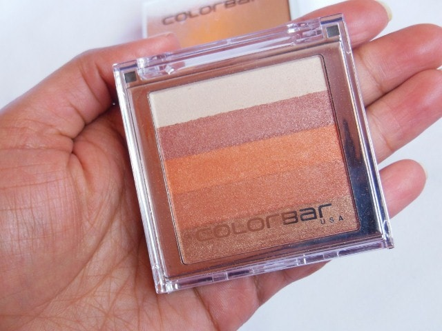 Colorbar Shimmer Bar Baked Eye Shadow and Blush Coral Hint #002