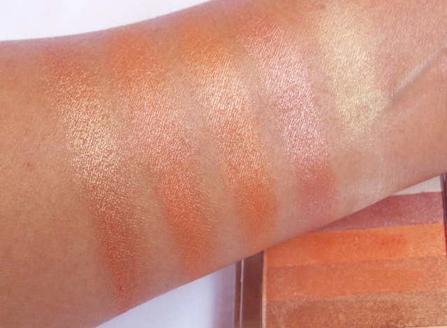 Colorbar Shimmer Bar Coral Hint Swatch 2