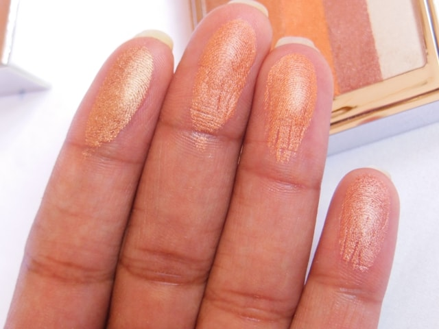 Colorbar Shimmer Bar Coral Hint Swatch