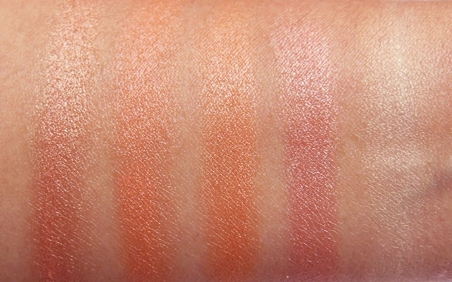 Colorbar Shimmer Brick Coral Hint 002 swatch