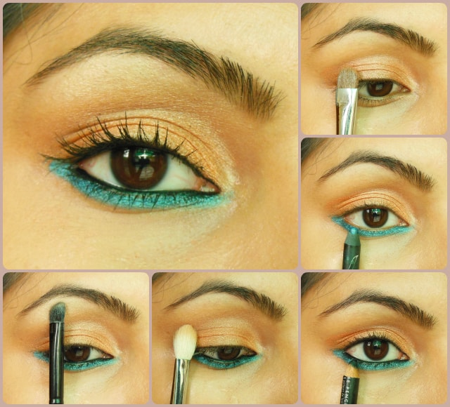 Eye Makeup Tutorial - Orange Obsession