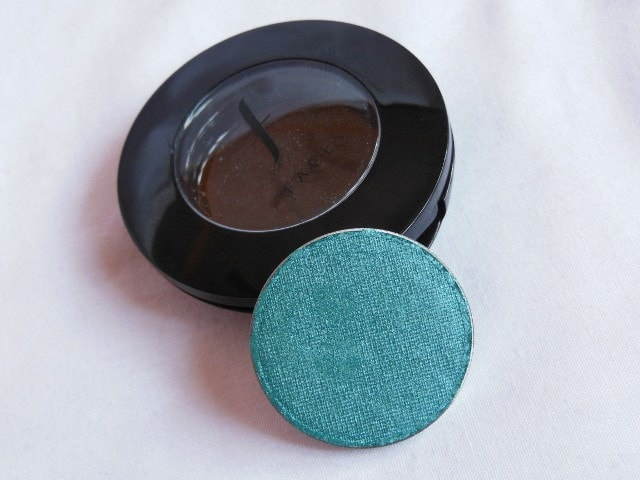 Faces Single Eye Shadow Turquoise Blue Review