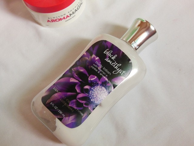 Finally Finished - Bath and Body Works Dark Amethyst Body Lotion