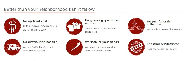 Fresh Monk Customize T-Shirt Website