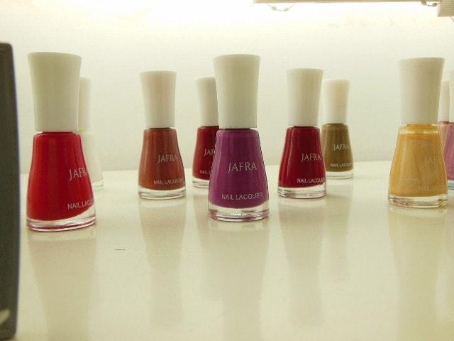 JAFRA Ruchi Cosmetics Nail Paints