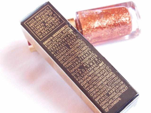 L'Oreal Paris Color Riche Le Vernis Copper Cuff Ingredients