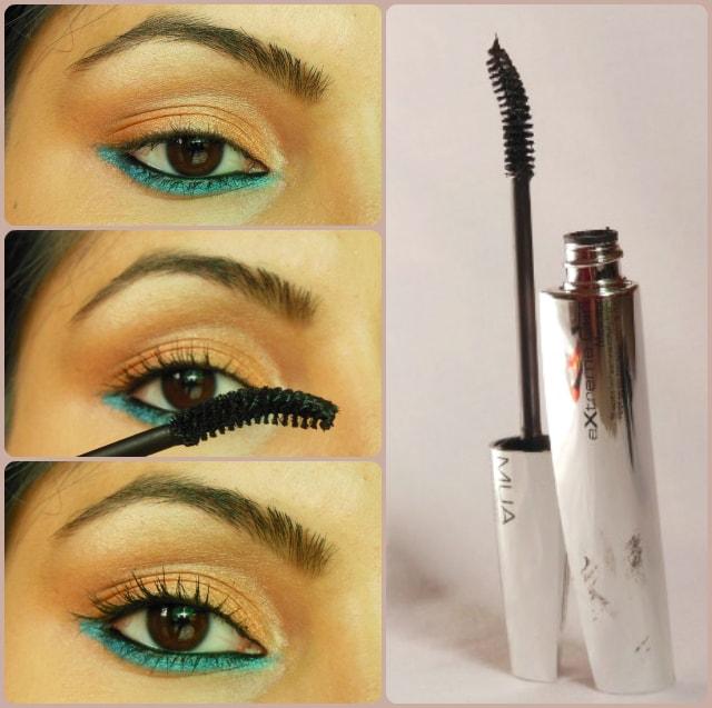 Makeup Academy MUA Extreme Curl Mascara Black Brown EOTD