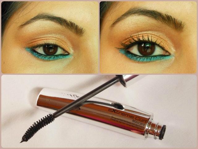 Makeup Academy MUA Extreme Curl Mascara Black Brown Look