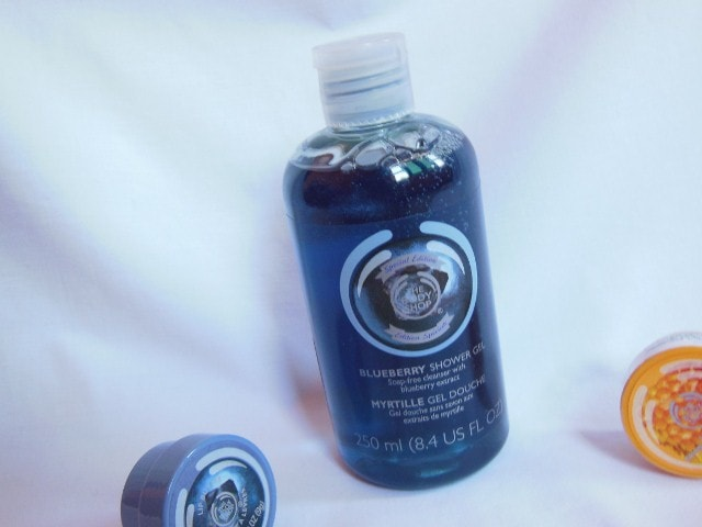The Body Shop Blueberry Shower Gel