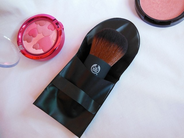 The Body Shop Extra Virgin Minerals Kaubki Brush packaging