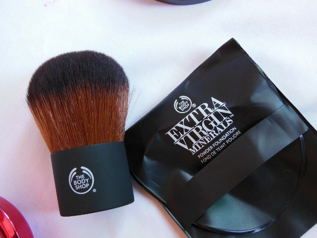 The Body Shop Kaubki Brush Packaging
