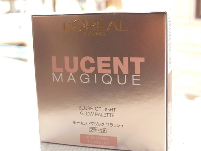 L'Oreal Lucent Magique Blush Of light palette