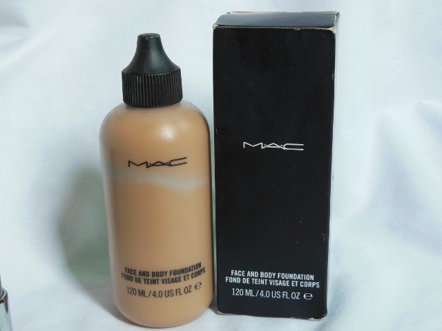 Makeup Haul - MAC face and Body Foundation