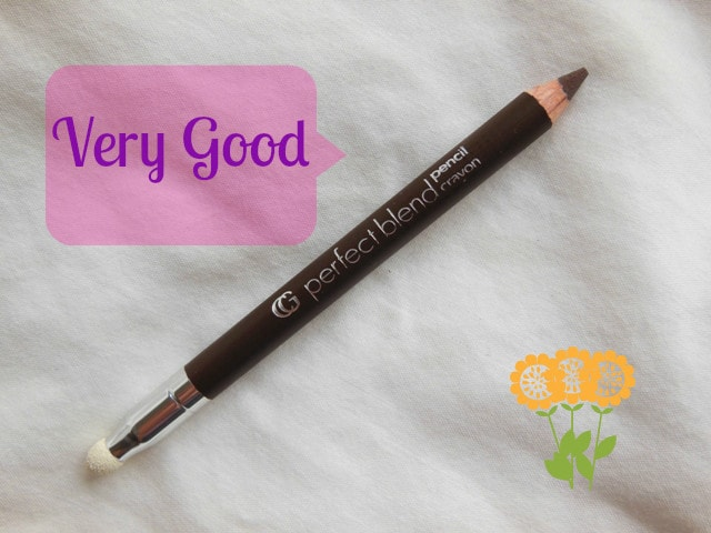 Makeup Marksheet- Covergirl Perfect blend Eye Pencil Black-Brown