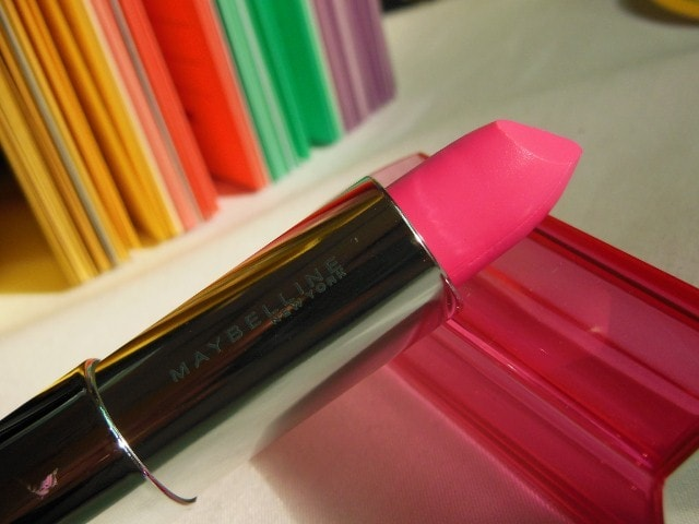 Maybelline Color Sensational Pink Alert Pow1 Lipstick review