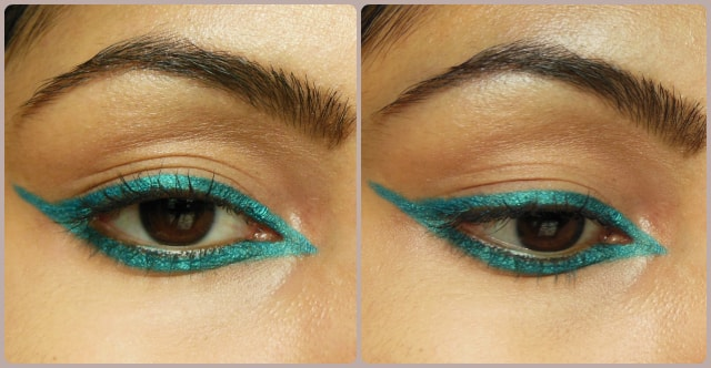 Maybelline Colossal Turquoise inspired Eyes