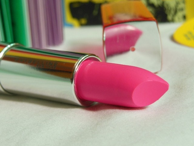 Maybelline Pink Alert Lipstick Pow1 Review
