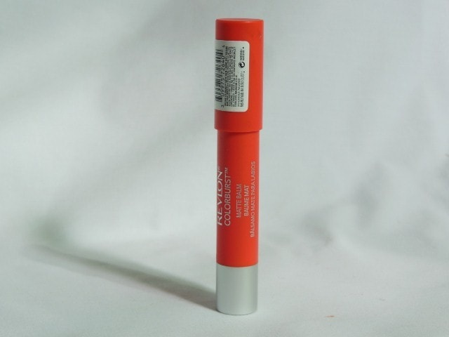 Revlon Colorburst Matte Balm Audacious Packaging