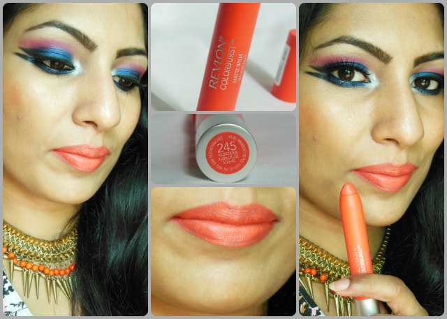 Revlon Colorburst Matte Balm in Audacious Look
