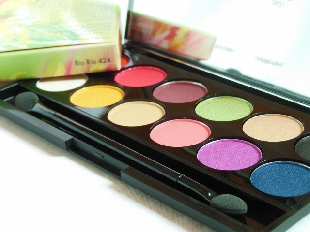 Sleek Eye Shadow Palette Rio Rio 424