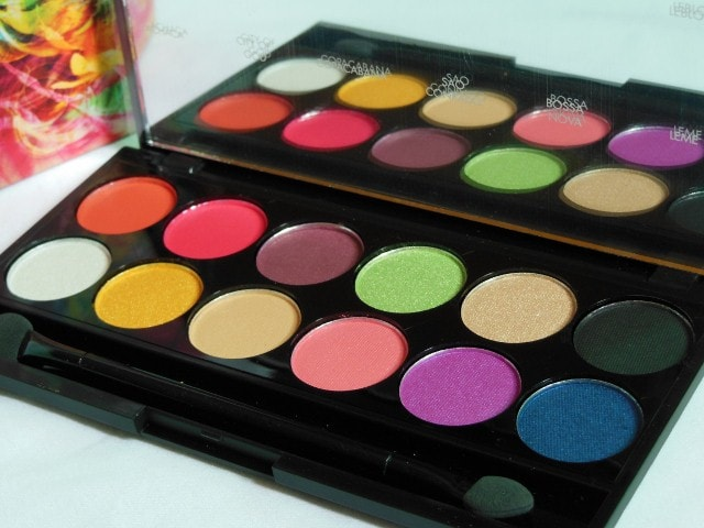 Sleek Eye Shadow Palette Rio Rio Review
