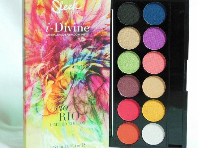 Sleek Rio Rio Eye Shadow Palette