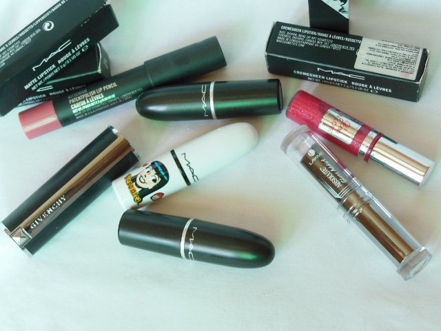 Birthday Makeup Haul- Lipsticks