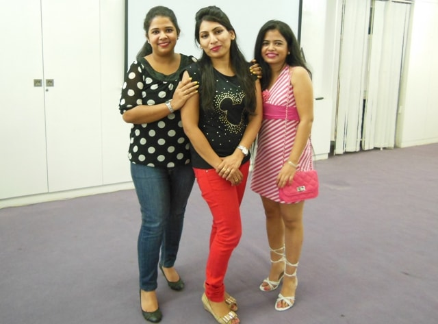 Charu Me and Ritcha at Jafra Pamper Party