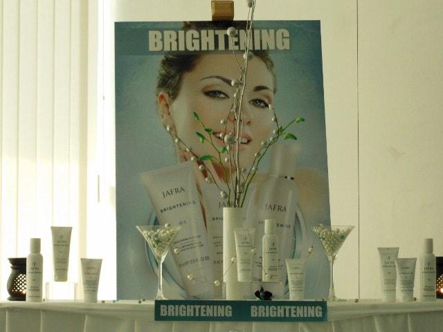 Jafra Brightening Skin care