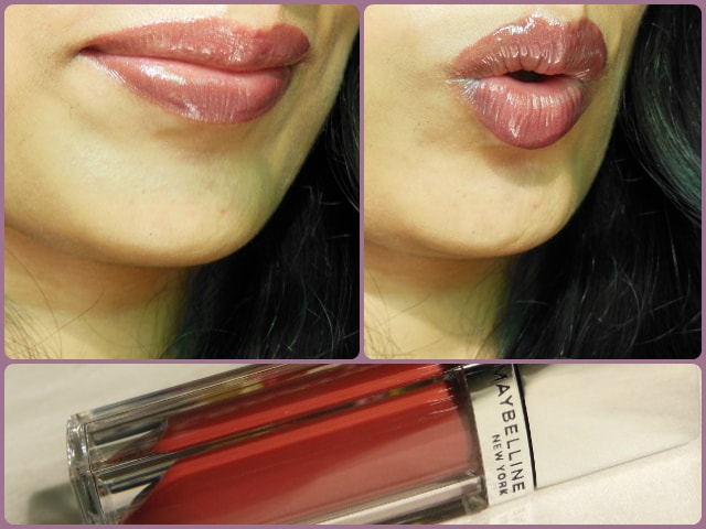 Maybelline Glam 16 Lip Polish LOTD