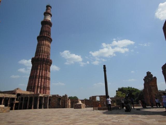 Qutab Minar and Iron Pillar
