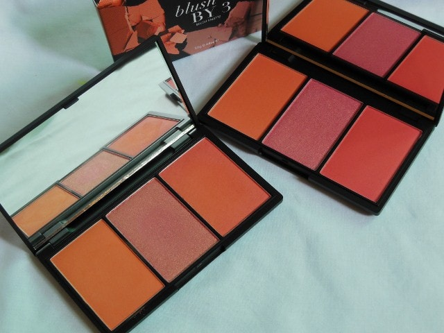 Sleek Blush By 3 Palette Lace Old and new formula