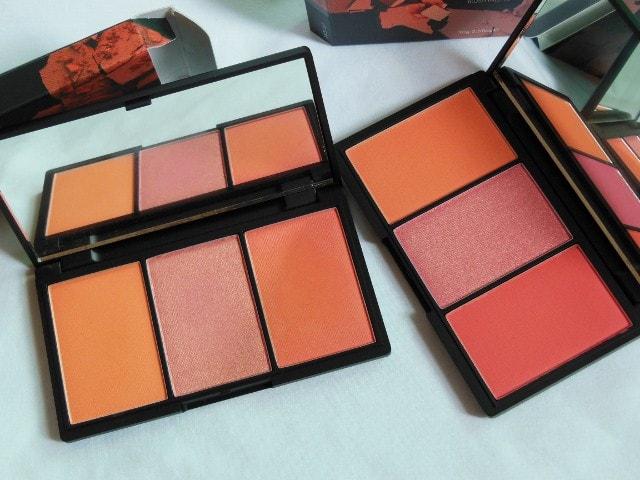 Sleek Blush Palette Comaprison Old and New