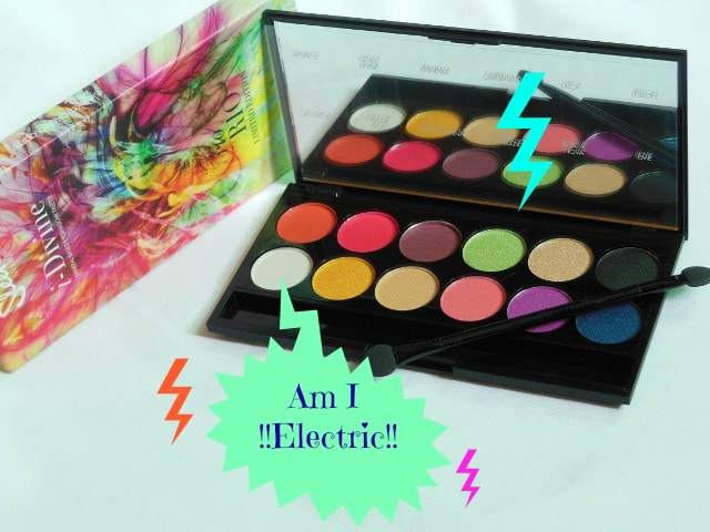 Urban Decay Electric Eye Shadow Palette Dupe Sleek Ro rio