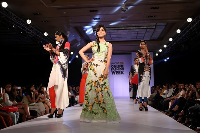 Yami Gautam  celebrity mentor at Jabong Online Fashion Week