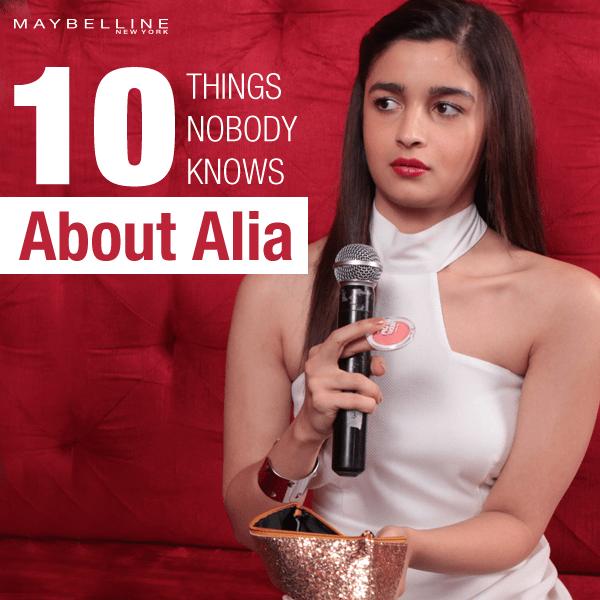10 things about Alia Bhatt