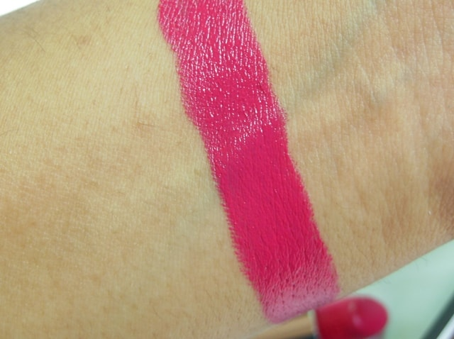 Givenchy Le Rouge Irresistible Fuchsia Lipstick Swatch