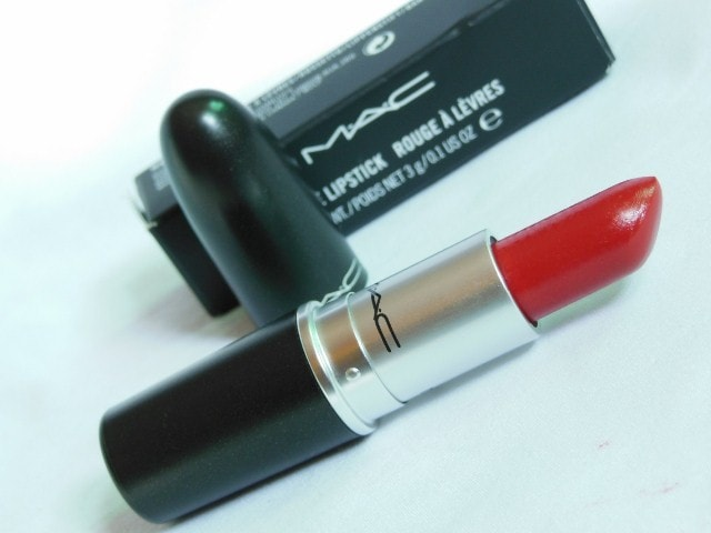 MAC Lustre Finish Lipstick Lady Bug