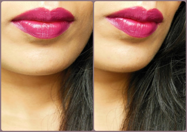 MAC Satin Lipstick Rebel Lip Swatch